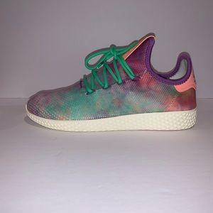 "Adidas Pharrell X Tennis Hu Holi  ""Chalk  Coral"""
